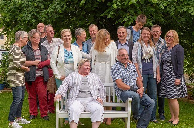 Gruppenbild: Vereinsmitglieder Mehrgenerationenhaus Bückeburg e.V.
