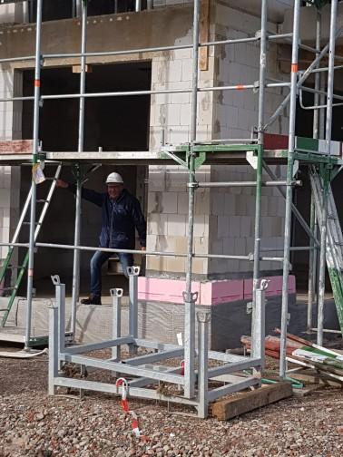 Baustelle Mehrgenerationenhaus Bückeburg