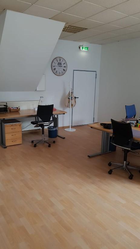 Unser Büro nimmt Formen an