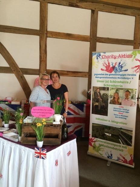 Charity-Aktion British Weekend auf dem Rittergut Remmeringhausen