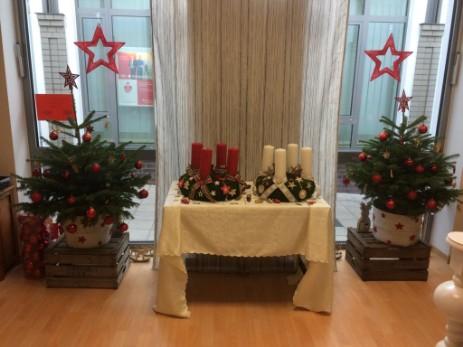 Weihnachtsbasar im Büro