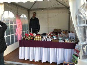 Weihnachtsmarkt in der Grünen Mitte in Jelpsen