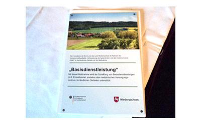 Basisdienstleistungen Förderung - Land Niedersachsen